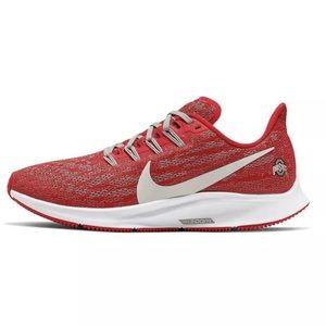 Women's Nike Ohio State Buckeyes Shoes Pegasus 36